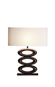 Tafellamp liggend ovaal klein 100-543-RBM luxury by nature