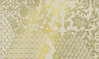 Patch 47562 – hoogglans metaalfolie licht goud Luxury by Nature