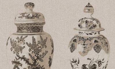 Arte Flamant behang poterie behangpapier Les Memoires 80001