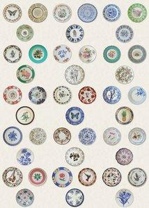 Matthew Williamson Ceramica Behang Belvoir w7140-02