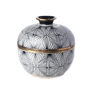 Pot Met Deksel.Luxe Woonaccessoires Pot Met Deksel Porselein Luxury By Nature