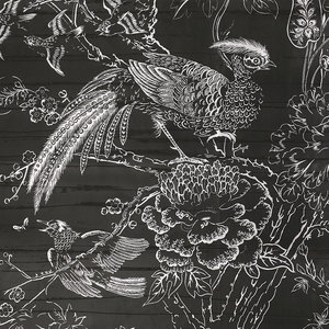 Silkbird Gravure Behang Lacca behangcollectie DI7007/001