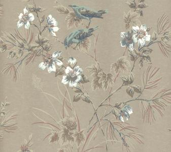 1838 Wallcoverings Rosemore Behang 1601-100-04 Taupe