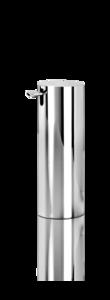 decor walther vrijstaande zeeppomp chroom tube serie decor walther dealer luxury by nature amsterdam