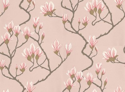 Cole and Son Magnolia behang 72-301   roze tinten