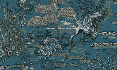 Arte Lotus 13500 behang Curiosa collectie detail