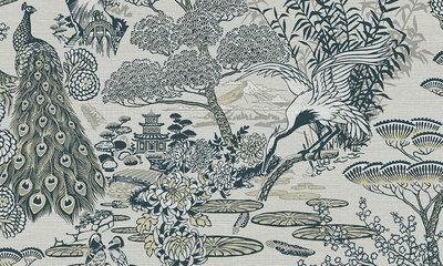Arte Lotus 13502 behang Curiosa collectie