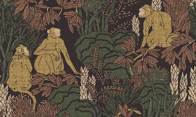 ARTE behang Langur Curiosa behangpapier collectie 13530