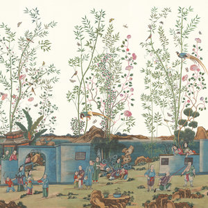 Iksel Canton Reverie chinoiserie behang