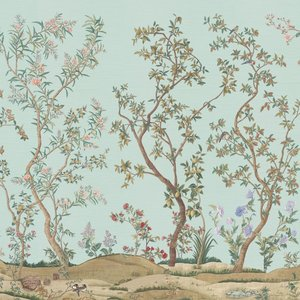 IKSEL Imperial Garden behang chinoiserie behangpapier