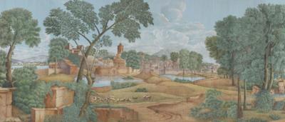 IKSEL Arcadia landschap behang panorama behang papier