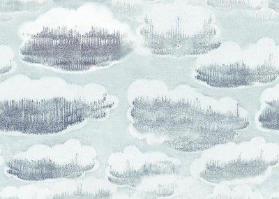 MC Escher Wolken behang 23136 Escher Clouds Wallcovering