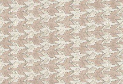 MC Escher Two Birds 23131 Escher twee vogels behang 23131