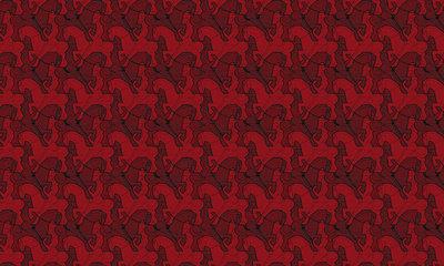 MC Escher Horseman behang 23140 Escher ruiter behang 23140 2