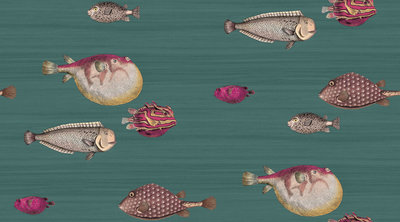 63ff67ab703 Luxe Fornasetti Acquario Behang - Luxury By Nature
