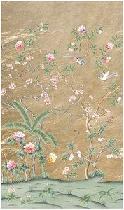 D'Arts Galerie des glaces behang chinoiserie