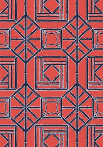 Shoji Panel Behang Thibaut Dynasty T75518