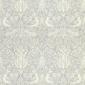 Morris Co Pure Dove andRose Behang - Pure Morris North Collectie 216520