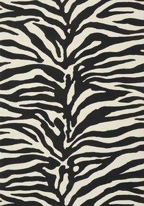 Zebra Print Behang.Zebra Behang Thibaut Serengeti