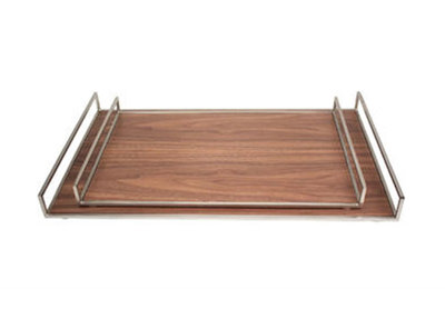 Gouden Tray's Hout Structuur