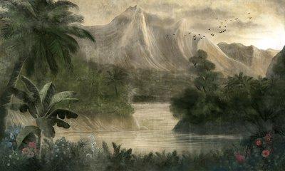 Coordonne Kodo behang 7900030 landschap