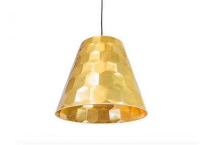 Osiris Hertman Hexagon Hanglamp Goud Maretti Lighting