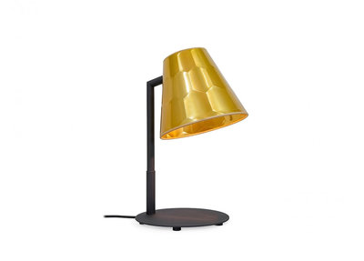 Osiris Hertman Hexagon Tafellamp Goud