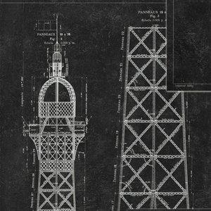 Mind the Gap Grand Eiffel Behang WP20218