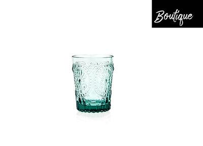 Fleur de Lys Glas Blauw Luxury By Nature