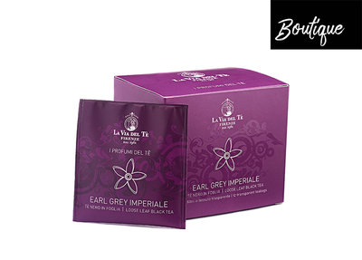 Luxe Theezakjes La Via del Te Earl Grey Luxury By Nature Boutique