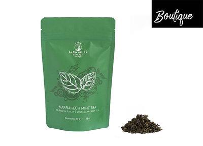 La Via del Te Marrakech Mint Tea Losse Thee In Zakje Luxury By Nature Boutique