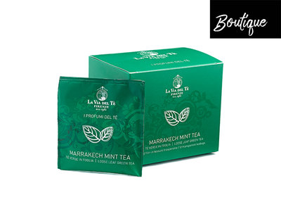 Luxe Theezakjes La Via del Te Marrakech Mint Tea Luxury By Nature Boutique
