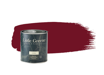 Verf Little Greene Theatre Red (192) Little Greene Dealer Amsterdam Luxury By Nature Boutique