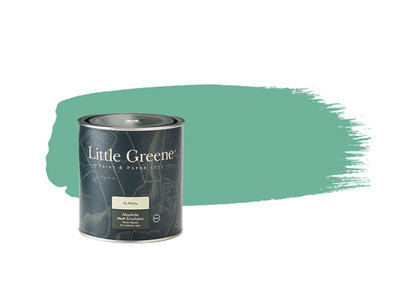 Verf Little Turquoise Blue Little Greene Dealer Amsterdam Luxury By Nature Boutique