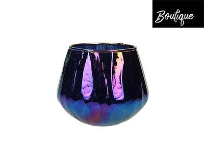Waxinelichthouder Glas Olie Medium