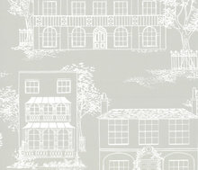 Behang Little Greene Hampstead Cool Grey 20th Century Papers Collectie Luxury By Nature