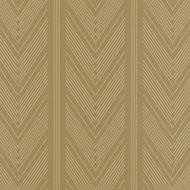 behang ralph lauren onyx club stripe gold LWP66213W