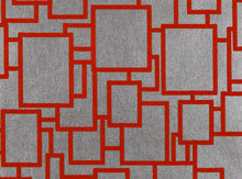 Behang Zinc Textile Halston Flock ZW109-05 marmalade Glamorama Luxury By Nature