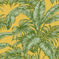 Behang Wallquest Tropical Leaves SG41414 sage 2 luxury by nature