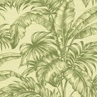 Behang Wallquest Tropical Leaves SG41404 sage 2 luxury by nature