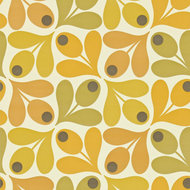 multi acorn spot orla kiely behang luxury by nature