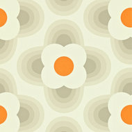 striped petal orla kiely behang luxury by nature