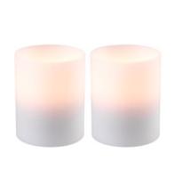Kunst Kaarsen Waxinelichthouder Witte Kaars